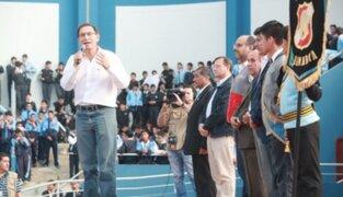Presidente Vizcarra: La educación tiene que ser factor de cambio en el Perú