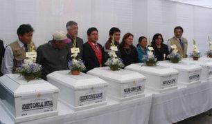 Huanta: entregan restos de personas desaparecidas en época de terrorismo