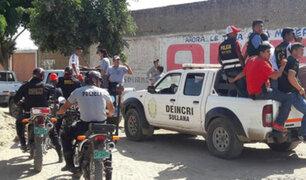 Piura: joven que fue raptado escapa de sus captores en Catacaos