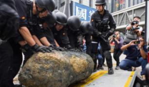 Evacuaciones en China por presunta bomba de la Segunda Guerra Mundial