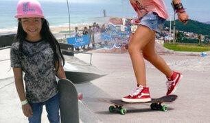Callao: enseñan gratuitamente a más de 100 niñas a montar y dominar el skate