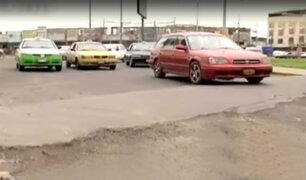 Conductores en riesgo por falta de mantenimiento de rompemuelles