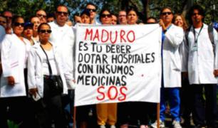 Venezuela: médicos protestan por falta de insumos en hospitales