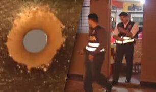 Barrios Altos: delincuentes balean vivienda de una prestamista de Gamarra