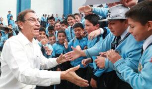 Gobierno entregará recursos para proyectos de infraestructura educativa