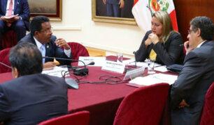 Entregan informe final sobre denuncia constitucional contra Kenji, Bienvenido y Bocángel
