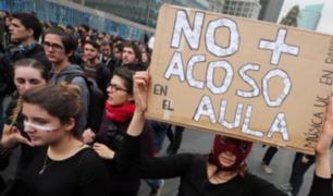 Marcha contra la violencia machista congrega a miles en Santiago de Chile