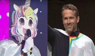 Ryan Reynolds sorprende a sus fans con disfraz de unicornio
