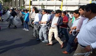 Alcaldes del VRAEM protestan exigiendo atención del Estado