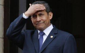 Expresidente Ollanta Humala: Nosotros no hemos dilatado este proceso