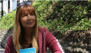 """Olenka Zimmerman sobre su libro: """"Está basado en hechos reales"""""""