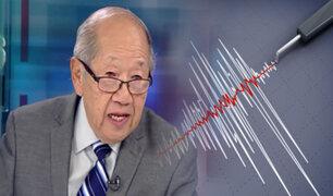 Sismólogo Julio Kuroiwa advierte sobre un próximo terremoto de gran magnitud