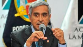 Presidente del Poder Judicial se pronunció sobre castración química contra violadores