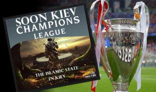 ISIS amenaza con realizar atentado en la final de la Champions League