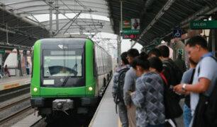 Metro de Lima: cerrarán tres estaciones durante los dos últimos domingos de mayo