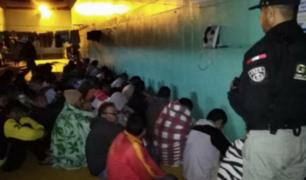 INPE traslada a 40 cabecillas de bandas criminales hacia penales de máxima seguridad