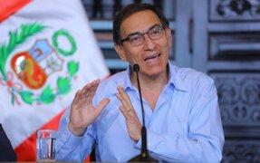Presidente Vizcarra a favor de la cadena perpetua para violadores