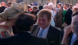 Reino Unido: diversas celebridades asistieron a la boda real