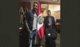 Reunión con Infantino: Guerrero y Oviedo viajan a Suiza
