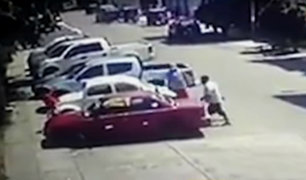 Chiclayo: sujetos roban auto cerca a casa de Duberlí Rodríguez
