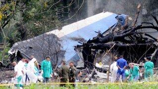 Cuba: falleció una de las sobrevivientes del accidente aéreo