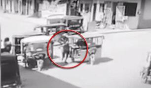 Carabayllo: otra joven es arrastrada por ladrones en mototaxi