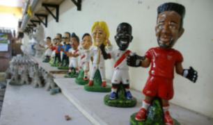Internos de penales ofrecen souvenirs mundialistas