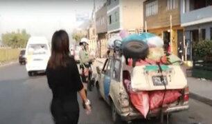 Operativo de tránsito: policía multó a transportistas de colectivos
