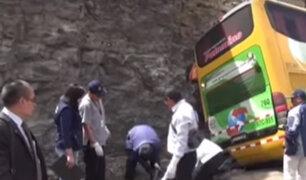 Ayacucho: despiste de ómnibus deja 5 muertos y más de 15 heridos