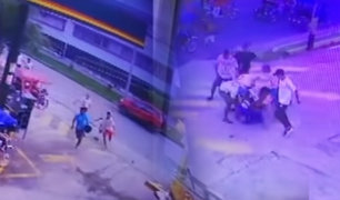 Iquitos: joven recibe brutal ataque por parte de barras bravas