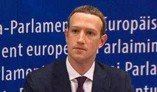 Mark Zuckerberg pide perdón al Parlamento Europeo por filtración de datos