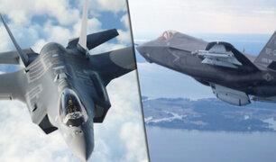 Avión militar más avanzado del mundo es usado por primera vez en combate por Israel