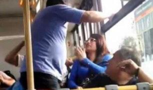 Estas son algunas peleas e incidentes que ocurren en el transporte público