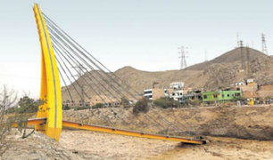 Caída de Puente Solidaridad causa perjuicio de más de 5 millones de soles