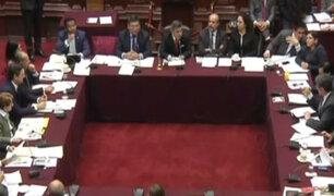 Comisión Permanente aprobó informe de desafuero de Fujimori, Bocángel y Ramírez