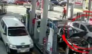 La Victoria: difunden impactantes imágenes de asalto frustrado en grifo