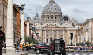Roma: se registró amenaza de bomba en el Vaticano