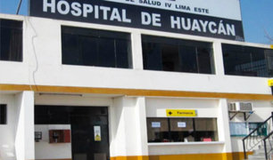 Hospital de Huaycán se pronuncia por muerte de niño de tres años