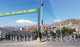 Cusco: se realiza paro regional de 24 horas por alza de combustibles