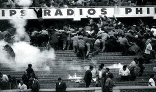 Se cumplen 54 años de la tragedia en el Estadio Nacional