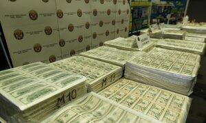 Incautan más de 8 millones de dólares falsos en tres distritos de Lima