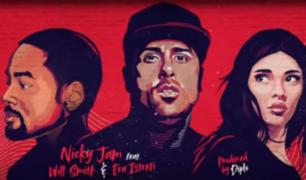 Nicky Jam, Will Smith y Era Istrefi estrenaron la canción oficial del Mundial Rusia 2018