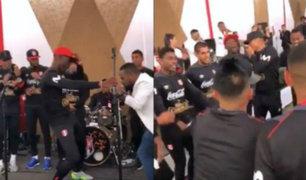 Seleccionados de Gareca celebraron junto a sus familiares en la Videna