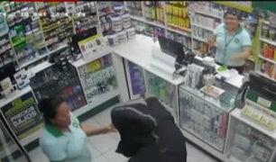 Policía aún no detiene a avezado asaltante de farmacias