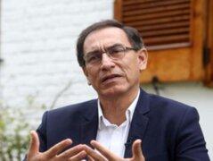 GfK: respaldo al presidente Martín Vizcarra baja al 47% en mayo