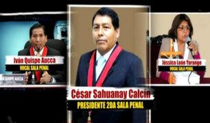 Caso Humala – Heredia: recusación cumplida