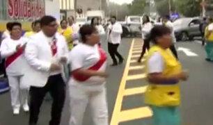 Perú vs. Escocia: se inician celebraciones en las afueras del Estadio Nacional