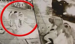 Familia es asaltada en la puerta de su casa en Miraflores