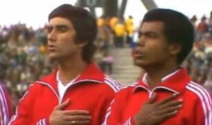 Estos fueron los partidos de Perú vs. Escocia en el recuerdo