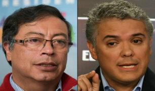 Colombia: Petro y Duque se enfrentarán en segunda vuelta presidencial